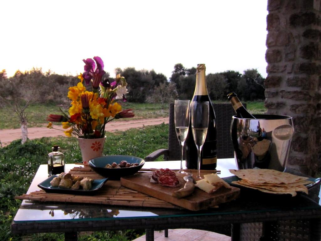 aperitivo in veranda